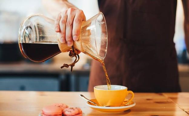 שותים קפה בקן (צילום: יחסי ציבור)