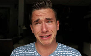 ויני בוכה (צילום: מתוך יוטיוב)