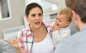 הורים רבים (צילום: goodluz, Shutterstock)
