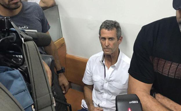 שטיינמץ בבית המשפט (צילום: חדשות 2)