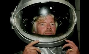 איש העסקים הצבעוני שיגיע לחלל? (צילום: חדשות 2)