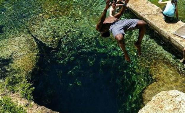 בורות שחייה (צילום: petey bee, אינסטגרם)