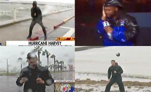 צפו: כתבי התקשורת נגד מזג האוויר