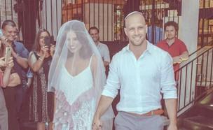 קארין זלאיט התחתנה (צילום: חן בלחנס)
