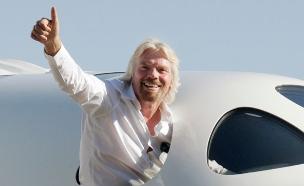 הצלחה שמיימית: המסע של ריצ'רד ברנסון (צילום: רויטרס)