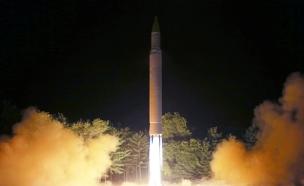 שיגור טיל בצפון קוריאה (ארכיון) (צילום: רויטרס)