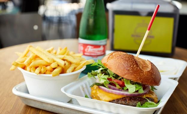 המבורגר, סוסו אנד סאנס (צילום: אמיר מנחם, אוכל טוב)