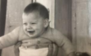 דוד דביר תמונת ילדות (צילום: אלבום פרטי)