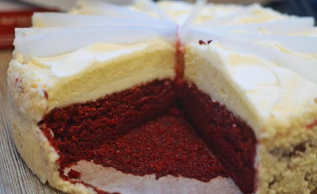 עוגת גבינה רד וולווט, צ'יז קייק פקטורי (צילום: גיל גוטקין, אוכל טוב)