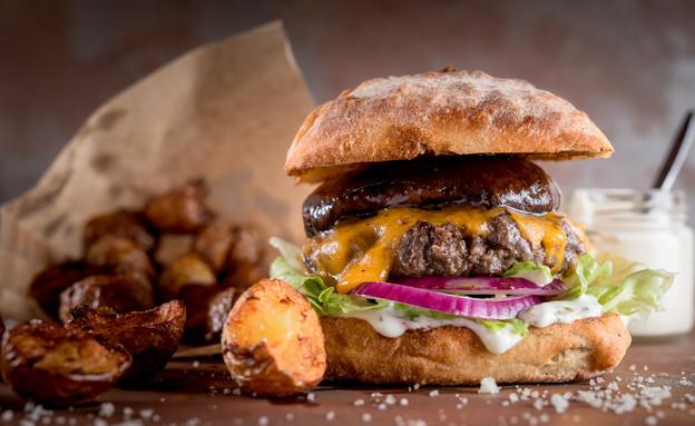המבורגר, סינטה בר (צילום: ישראל אלפסה,  יחסי ציבור )