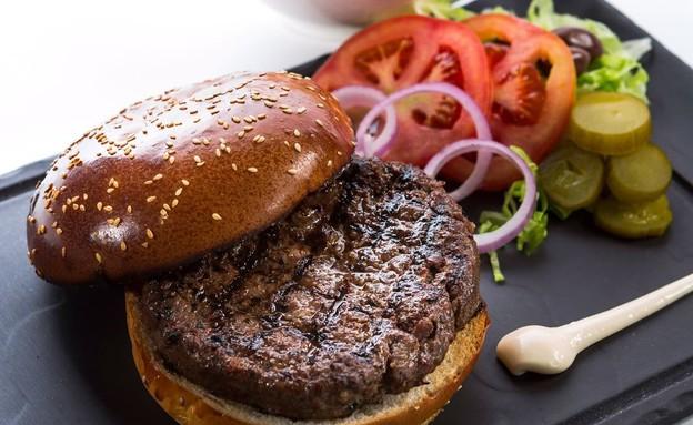 המבורגר, ערביקה (צילום: רם גיל,  יחסי ציבור )
