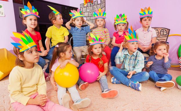 ילדים בגן (צילום: Shutterstock)