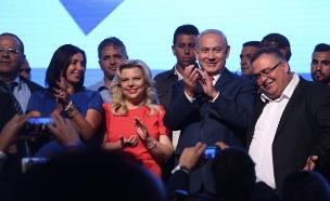 כנס תמיכה בראש הממשלה בנימין נתניהו (צילום: מרים אלסטר / פלאש 90)