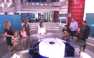 """צפו בדיון באולפן """"פגוש את העיתונות"""" (צילום: חדשות 2)"""