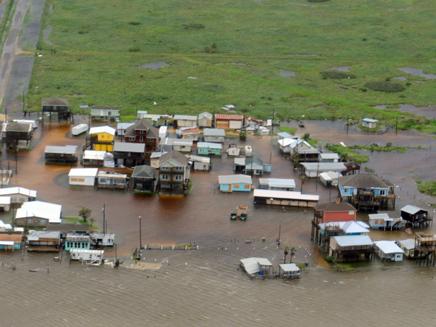 הגשמים הרבים גרמו להצפות נרחבות