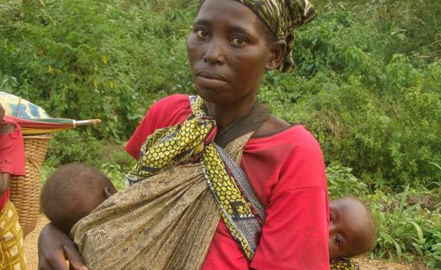 אישה קונגו (צילום: איתי אנגל)