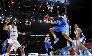 נבחרת ישראל באליפות אירופה בכדורסל (צילום: רויטרס)