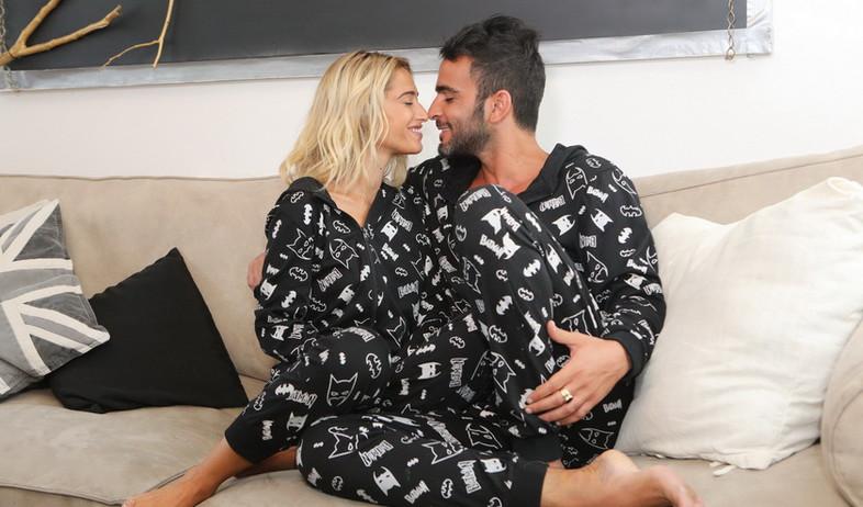 דנית ואליאב מצטלמים לקמפיין  (צילום: רפי דלויה)