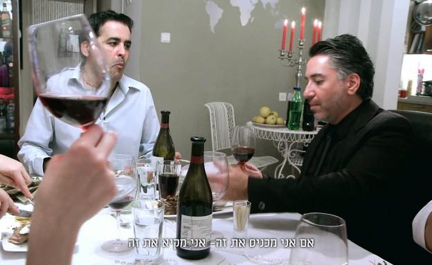 איציק כרסנטי מתוך בואו לאכול איתי (צילום: יחסי ציבור)