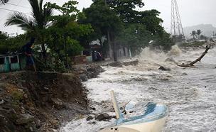 הוריקן אירמה ברפובליקה הדומיניקנית, פוארטו פלאטה (צילום: חדשות 2)