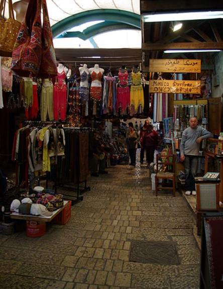 השוק בעכו (צילום: יחסי ציבור, ויקיפדיה)
