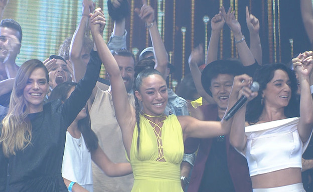 """אתם קבעתם: סימור היא הרקדנית של ישראל (צילום: מתוך """"רק רוצים לרקוד"""", שידורי קשת)"""