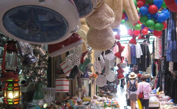 השוק בנצרת (צילום: נגה משל)