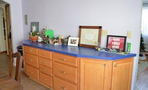 02 שיפוץ מטבח DIY (3), לפני (צילום: Plaster & Disaster)