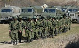 כוחות צבא רוסים (צילום: רויטרס)