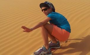 גלישת חולות (צילום: דרור במדבר)