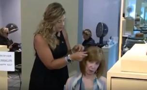 מעצבת שיער גילתה מלנומה (צילום: Youtube/AWM)