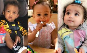 התינוקות של הוליווד (צילום: twitter, instagram, facebook)