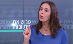 """שרת התרבות באולפן """"פגוש את העיתונות"""" (צילום: חדשות 2)"""