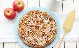שבלולי בצק עלים ותפוחים (צילום: ענבל לביא, אוכל טוב)