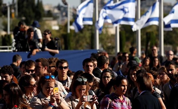 8.7 מיליון ישראלים (צילום: רויטרס)