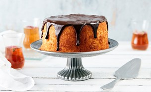 עוגת גבינה ושוקולד (צילום: אמיר מנחם, אוכל טוב)