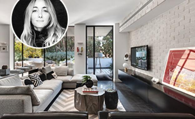 דנה אוברזון - הדירה הפרטית שלה היא סיפור של משפחה ואמנות (צילום: עודד סמדר)