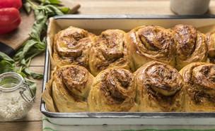 שושני בצק שמרים עם שמן זית (צילום: אפיק גבאי, אוכל טוב)