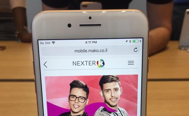 אייפון 8 (צילום: אופיר ארצי, ניו יורק, NEXTER)