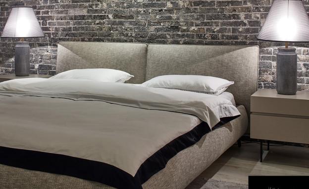 מיטות09_ חדר שינה רך ומרגיע (צילום: עדי גלעד עבור ריהוטים)