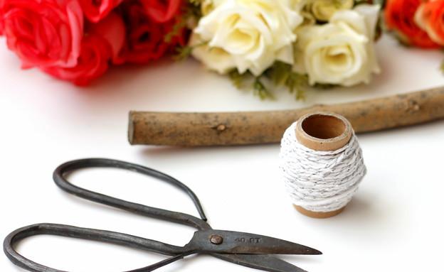 קישוטי פרחים (צילום: תמר בהרב)