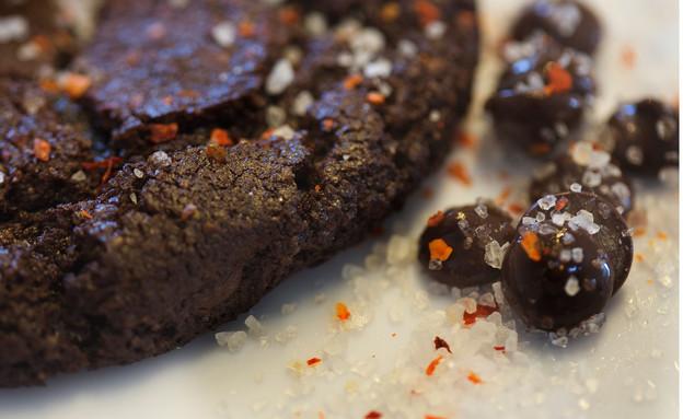 עוגיית שוקולד מריר וצ'ילי, נייט קוקי (צילום: איה אפרים,  יחסי ציבור )