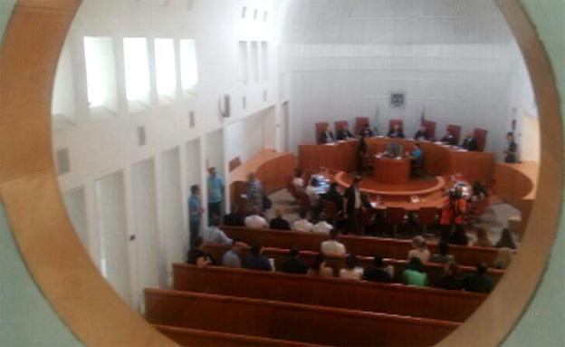 לא יישלח נציג מבית המשפט העליון (צילום: חדשות 2)