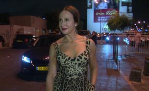 לאה שנירר משטרת האופנה (תמונת AVI: ערב טוב עם גיא פינס)