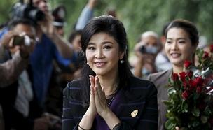 ראשת ממשלת תאילנד לשעבר יינגלאק שינוואטרה, ארכיון (צילום: רויטרס)