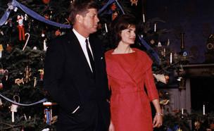 ג'ון קנדי ורעייתו (צילום: יחסי ציבור)
