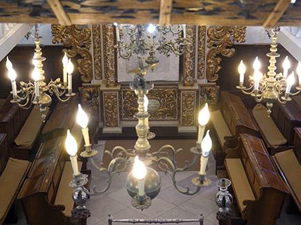 בית הכנסת האיטלקי בירושלים (צילום: חדשות 2)
