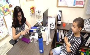 צפו: המרכז היחיד לטיפול באלרגיות בארץ (צילום: חדשות 2)