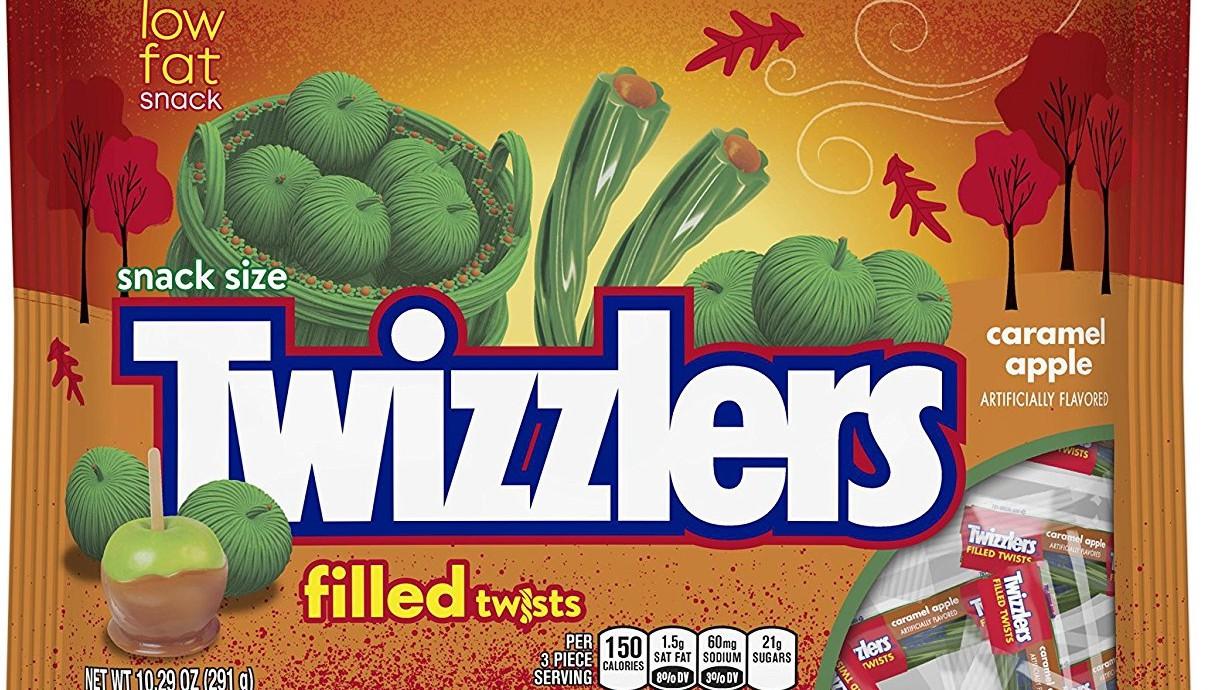 caramel apple Twizzlers