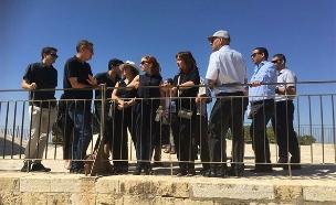 """הח""""כים בסיור במזרח ירושלים"""